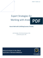 expert strategies for working with anxiety