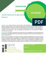 Huella hídrica de la agricultura en Navarra