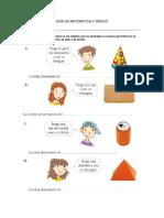 Guía de Matemática 4