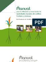 Manual de Variedades Locales Frutales
