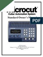 Microcut Hstd Manual