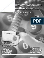 COMUNICADOR DE MONITOREO Y CONTROLADOR PERSONAL Modelo M2028-MPX