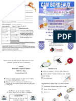Stage Cam Tenis Table Toussaint 2019