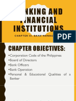 Banking and Financial Institutions Chapter 3