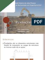 Fundações - Aula 1