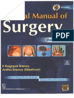 Manipal Manual of Surgery 4th Edition(1)