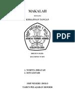MAKALAH KERAJINAN TANGAN.docx