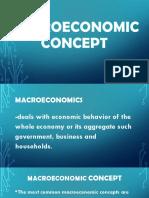 Macroeconomic Concept