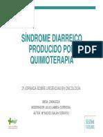 Sindrome Diarreico producido por quimioterapia