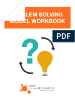 Problem Solving Model Workbook Fillable