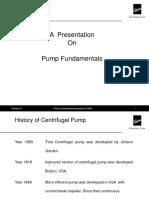 Pump Fundamentals