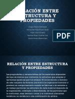 Relacion Entre Estructura y Propiedades-1