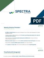 Spectra - Master Presentation