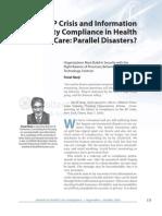 Journal of Health Care Compliance - Feisal Nanji - Final