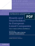 Boards and Shareholders in European Listed Companies.pdf