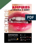 Exposition Vampires à la Cinémathèque Française