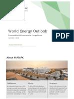 Ief Energy Outlook 2018-09-09