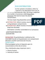 Drug Distribution New Part