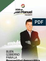 Plan de Gobierno Juan Manuel Santos