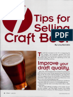 7 Tips for Selling Craft Beer