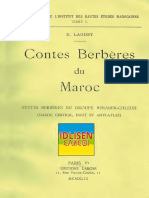Contes Berbères Du Maroc - E.laoust 1-2_text