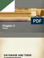Chapter 2 Database Building Blocks