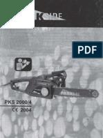 Parkside PKS2000-4 (Tronçonneuse)