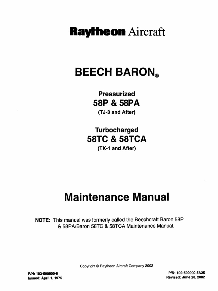 MM B 58 | Aviation | Aircraft A Wiring Diagram Manual on