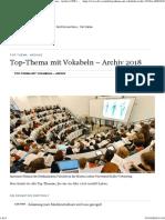 Top-Thema Mit Vokabeln – Archiv 2018 - Top-Thema - Archive - DW - 02.01.2018