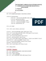 Programul Campionatului internaționaldeschis al Republicii Moldova la Motocross (or. Nisporeni,12-13 octombrie 2019)