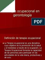 TO en gerontologia