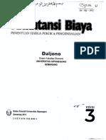 Akuntansi Biaya Edisi 3 Daljono
