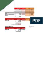 Matriz de Facturas Apto 811. V1