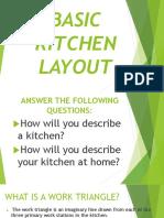Basic Kitchen Layout