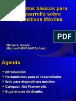 conceptos básicos para el desarrollo sobre dispositivos móviles