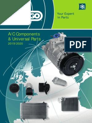 Climat Condensateur pour Mercedes w124 Limo 4.0