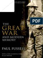 Paul Fussell - The Great War and Modern Memory (2013, Oxford University Press, USA).epub