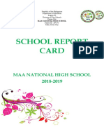 School Report Card Final 2018-2019