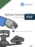 Informe Observatorio Social - Invierno 2009