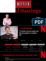 REED HASTING(NETFLIX)
