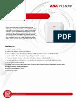 DS-PR1-60 Security Radar Datasheet V1.0(1)