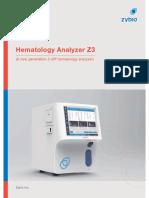 Hematology Analyzer Z3