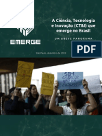 A CT&I Que Emerge No Brasil (2018)