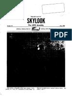 MUFON Skylook - May 1974