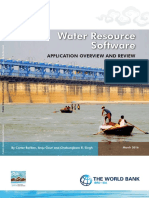Water resources software