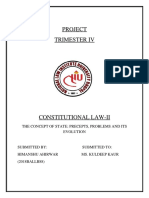 Project Constitutional Law