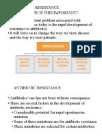 Antibiotc Resistance
