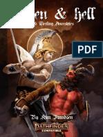 Rising Phoenix Games - Heaven & Hell - Aasimar & Tiefling Ancestries