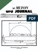 MUFON UFO Journal - January 1978