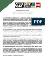 Communiqué intersyndical au sujet de l'inauguration du Centre de conservation du Louvre à Liévin